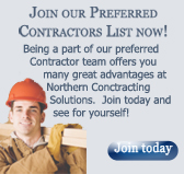 Join our preferred contractors list now!